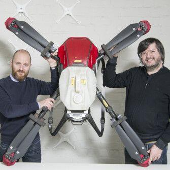 Засновники DroneUA мріяли робити дрони. Проте зрозуміли, що техніку можна продавати один раз, а послуги – нескінченно /Фото Олександр Чекменьов