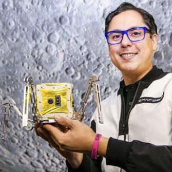 Економіка космосу. Навіщо українець Павло Танасюк відправляє робота-павука у місію на Місяць /Фото з особистого архіву