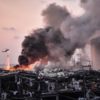 Як бізнесмен з Дніпра «підірвав» Бейрут. Що знайшли журналісти про аміачну селітру, яка вибухнула в столиці Лівану /Фото Getty Images