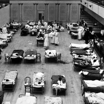 История эпидемии. «Испанка» в Украине: 1918-1919 /Фото Getty Images