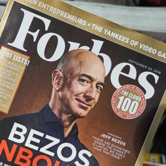 Forbes выходит на Нью-Йоркскую биржу через SPAC. Издание планирует привлечь $600 млн /Фото Shutterstock