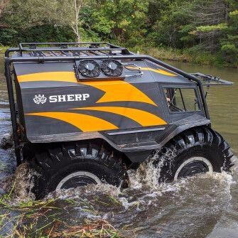 Всюдиходи Sherp витримають будь-який екстремальний клімат. Крім інвестиційного /Фото Getty Images