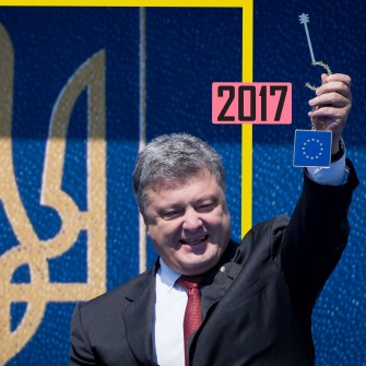 2017 год. Безвиз | История украинского бизнеса /Фото Getty Images