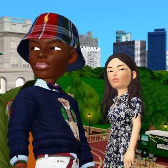 Ralph Lauren теперь продает цифровую одежду для аватаров в соцсети Zepeto. Как бренды борются за внимание молодежи в виртувальном мире