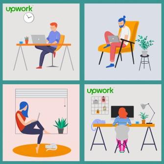 Upwork допомагає українським підприємцям знайти клієнтів з усього світу і працювати з Facebook, Google та Amazon. Ось як це зробити /Фото Ілюстрація Getty Images