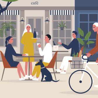 Ресторанна перебудова. Як виживають кафе та ресторани під час пандемії. Пояснює Андрій Худо та Ігор Сухомлин /Фото Ілюстрація Getty Images