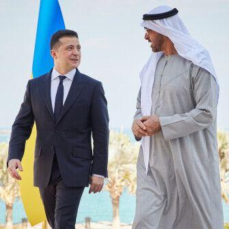 Україна таОАЕ підписали меморандуми таконтракти на $3 млрд,– Офіс президента /Фото прес-центр Президента України