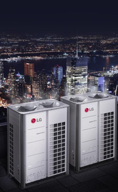 LG трансформує підхід до інженерних мереж з новими мультизональними VRF-системами