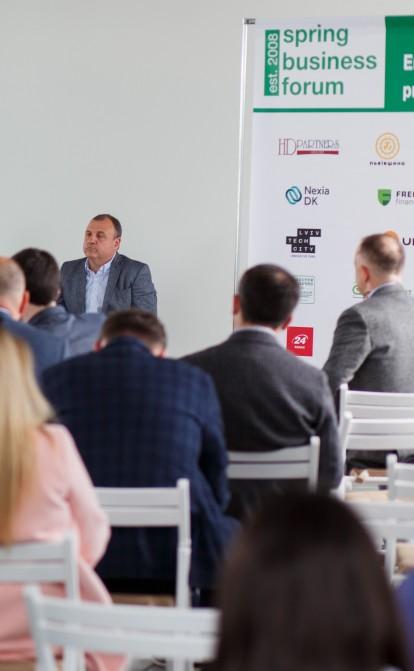 Бути в ділі: як на Весняному діловому форумі шукали нові можливості підтримки українського бізнесу
