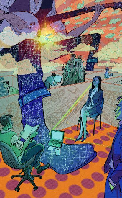 Галина Крук. Людське – занадто людське | Fiction від Forbes /Фото Ілюстрація Михайло Олександров