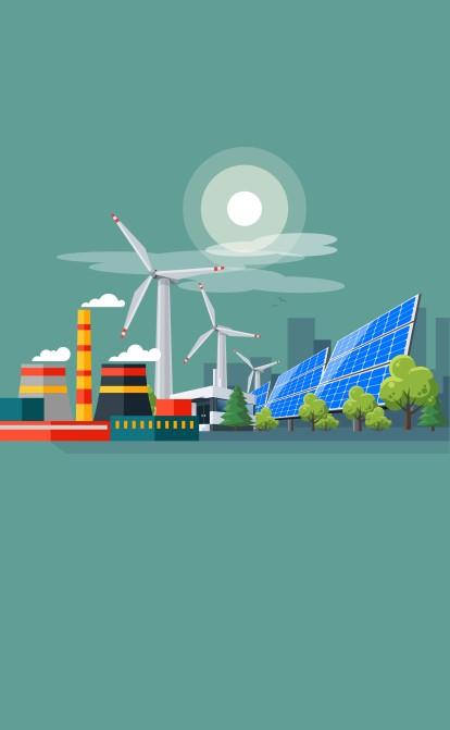 Правительство хочет собрать 4,6 млрд грн с тяжелой промышленности и производителей «зеленой» энергии. Кому придется платить больше экологического налога /Фото Shutterstock