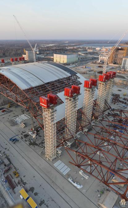Сталевий гігант Чорнобиля: як український метал захищає від впливу радіації
