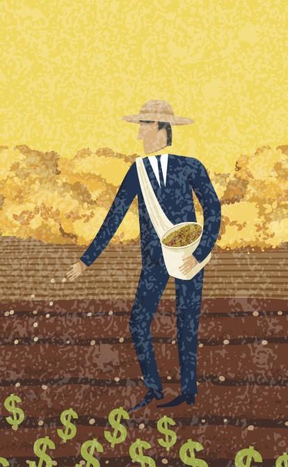 Кабмін придумав нові податки для аграріїв. Кого хочуть змусити платити більше /Фото Ілюстрація Getty Images