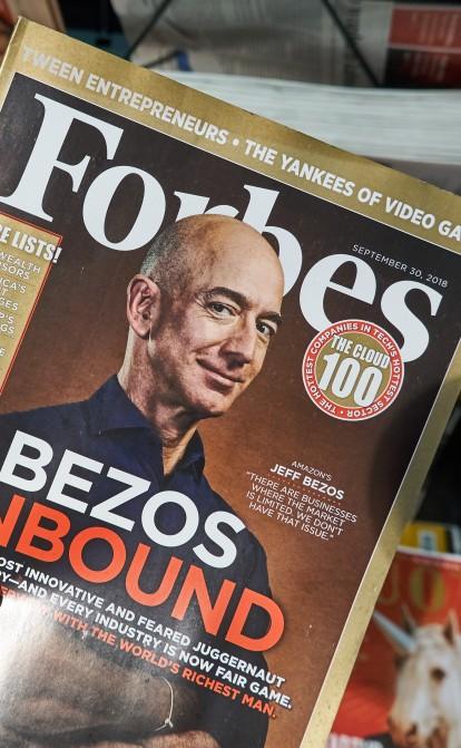 Forbes виходить на Нью-Йоркську біржу через SPAC. Видання планує залучити $600 млн /Фото Shutterstock