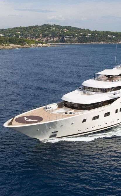 Юрій Косюк пішов Тузом. Засновник МХП продає свою 85-метрову яхту за €119 млн. Чому /Фото Klaus Jordan