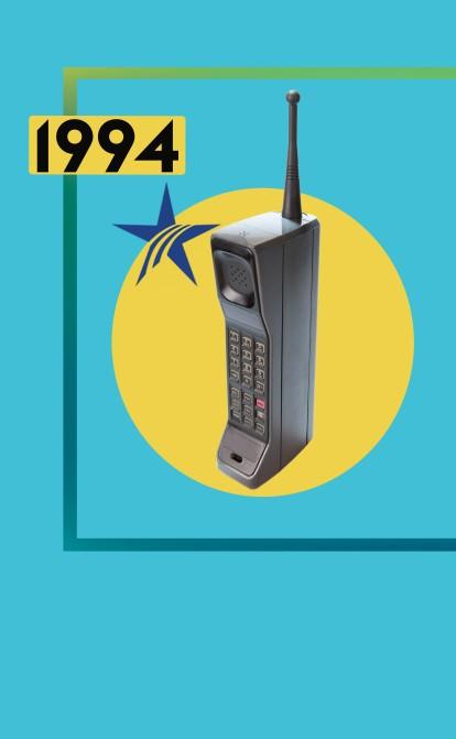 1994 год. Мобильная связь | История украинского бизнеса /Фото Иллюстрация Getty Images
