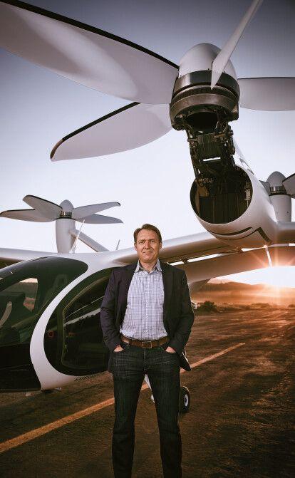 Джо Бен Беверт собрал почти $1 млрд, чтобы запустить сервис воздушного шеринга. Помог автогигант Toyota /Фото Trevor Jolin