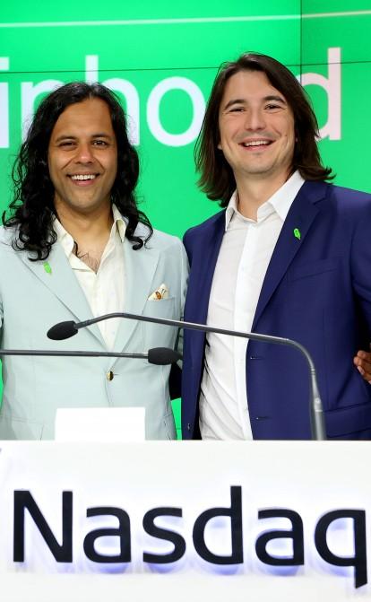 Незважаючи на проблемне IPO, обидва засновники Robinhood тепер мультимільярдери /Фото Getty Images