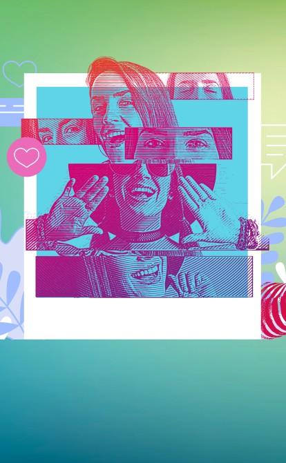 В Україні понад 60 000 мікроінфлюенсерів. Як бренди використовують їх для реклами і скільки це коштує /Фото Ілюстрація Getty Images / Анна Наконечна