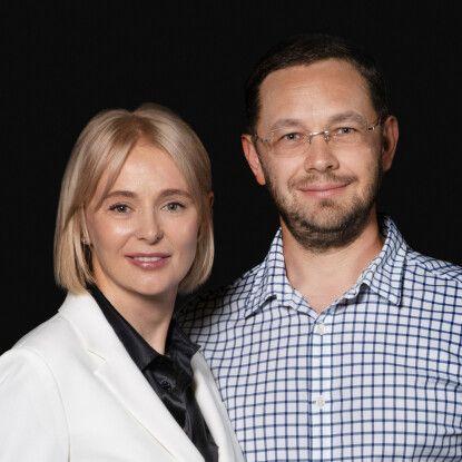 Владислав та Ірина Чечоткіни /Фото Олександр Чекменьов