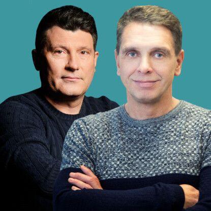 Геннадій Виходцев та Валерій Маковецький /Фото Foxtrotgroup