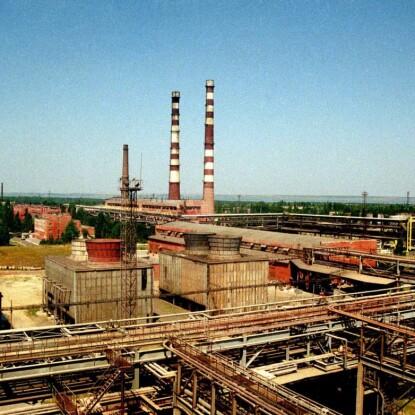 Миколаївський глиноземний завод /Фото УНІАН