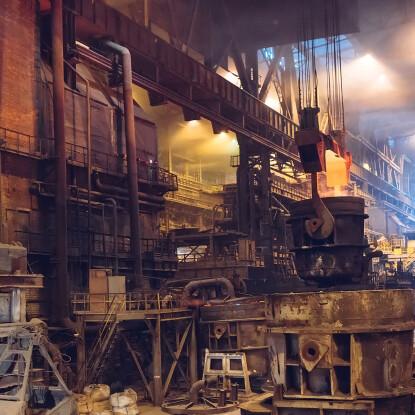 Днепровский металлургический завод /Фото Freepik